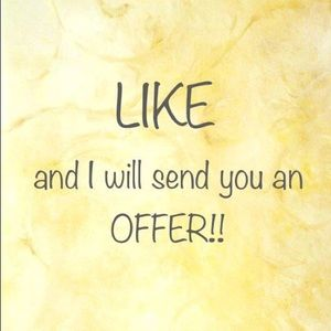 Other - LIKE AND I WILL OFFER!